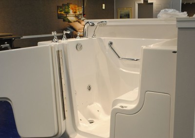 Home Accessibility Modified Bathtub