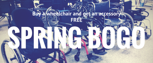 Buy a wheelchair and get an accessory free